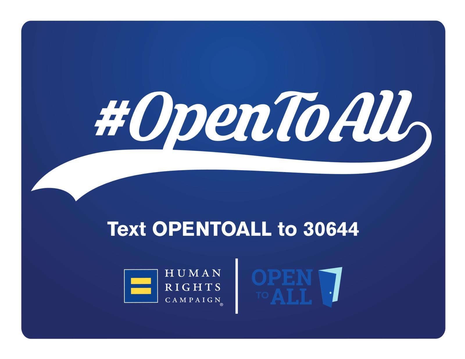 #opentoall